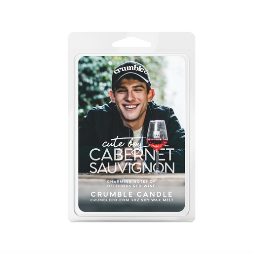 Cute Boy Cabernet Sauvignon Wax Melts - Fragrant Wax Melts & Wax Cubes | Crumble Co. Scented Wax Bars & Candles
