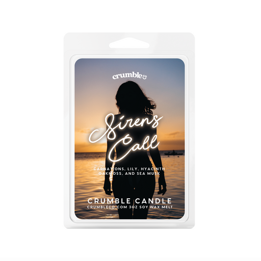 Sirens Call Wax Melts - Fragrant Wax Melts & Wax Cubes | Crumble Co. Scented Wax Bars & Candles