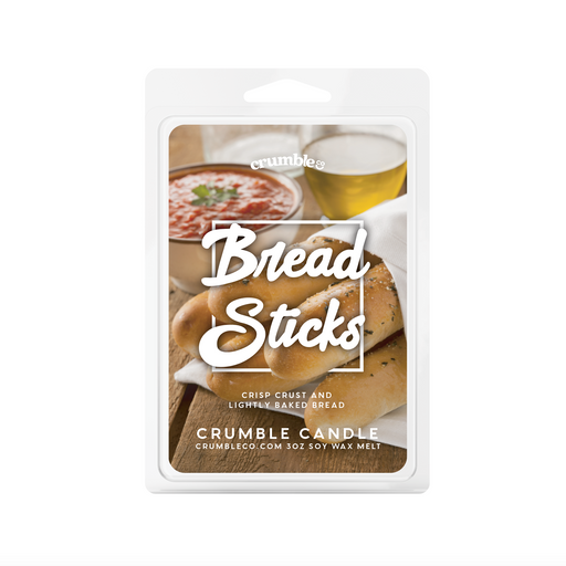 Breadsticks Wax Melts - Fragrant Wax Melts & Wax Cubes | Crumble Co. Scented Wax Bars & Candles