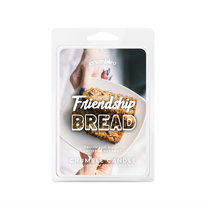 Friendship Bread Wax Melts - Fragrant Wax Melts & Wax Cubes | Crumble Co. Scented Wax Bars & Candles