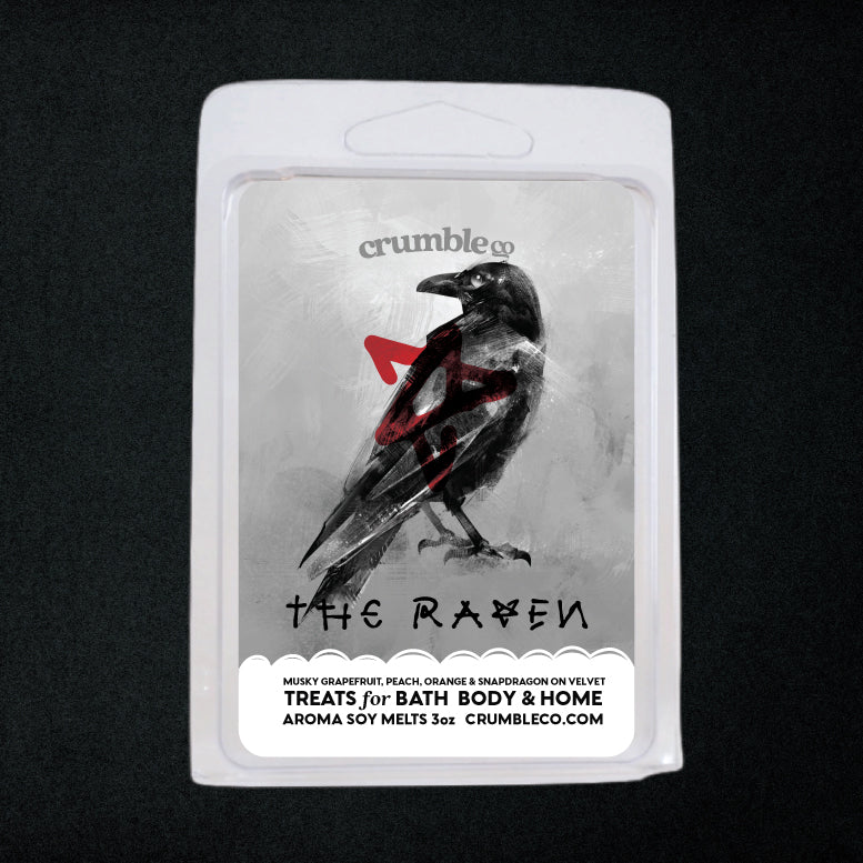 The Raven Wax Melt - Fragrant Wax Melts & Wax Cubes | Crumble Co. Scented Wax Bars & Candles