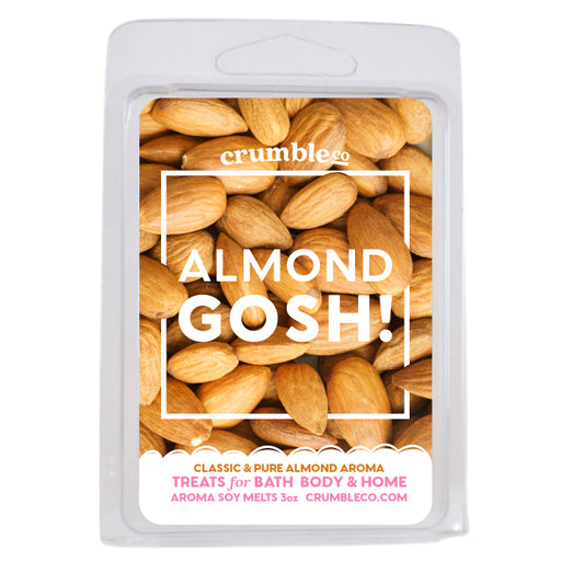 Almond Gosh! Wax Melts - Fragrant Wax Melts & Wax Cubes | Crumble Co. Scented Wax Bars & Candles