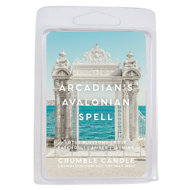 Arcadian's Avalonian Spell Wax Melts - Fragrant Wax Melts & Wax Cubes | Crumble Co. Scented Wax Bars & Candles