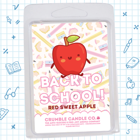 Back To School! Red Sweet Apple