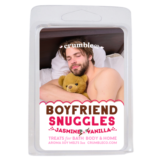 Boyfriend Snuggles Wax Melts - Fragrant Wax Melts & Wax Cubes | Crumble Co. Scented Wax Bars & Candles