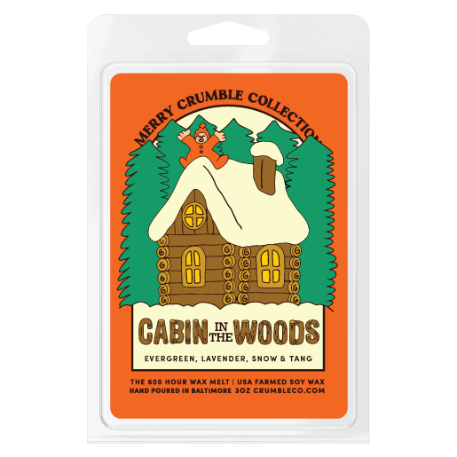 Cabin in the Woods Wax Melts - Fragrant Wax Melts & Wax Cubes | Crumble Co. Scented Wax Bars & Candles