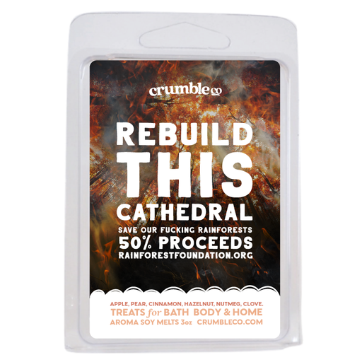 Rebuild This Cathedral Wax Melts Charity Bar - Fragrant Wax Melts & Wax Cubes | Crumble Co. Scented Wax Bars & Candles