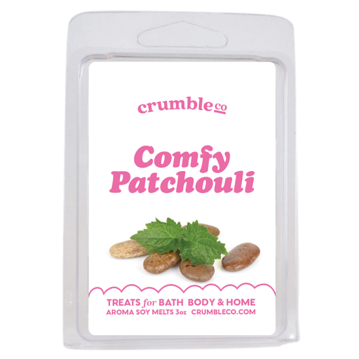 Comfy Patchouli Wax Melts - Fragrant Wax Melts & Wax Cubes | Crumble Co. Scented Wax Bars & Candles