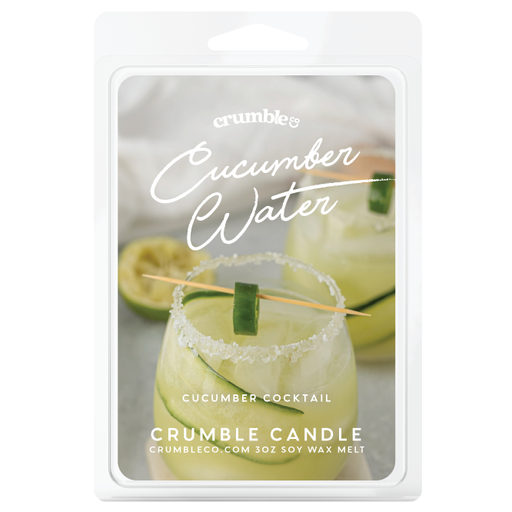 Cucumber Water Wax Melts - Fragrant Wax Melts & Wax Cubes | Crumble Co. Scented Wax Bars & Candles