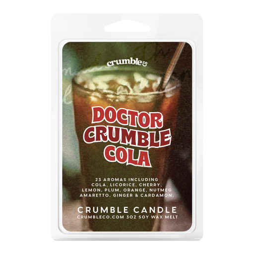 Doctor Crumble Wax Melts - Fragrant Wax Melts & Wax Cubes | Crumble Co. Scented Wax Bars & Candles