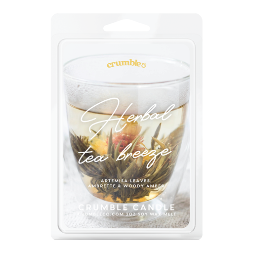 Herbal Tea Breeze Wax Melts - Fragrant Wax Melts & Wax Cubes | Crumble Co. Scented Wax Bars & Candles