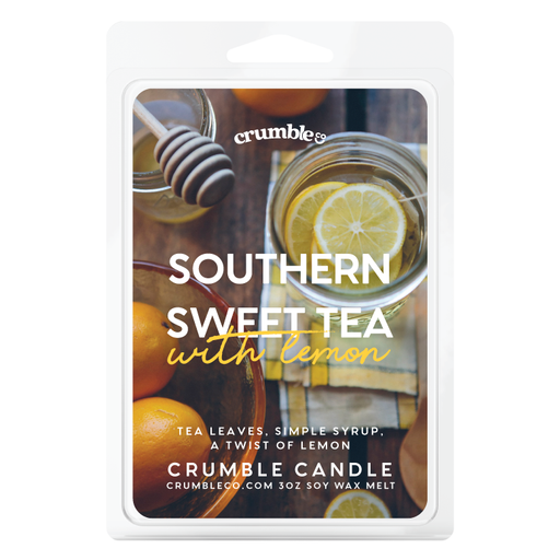 Southern Sweet Tea With Lemon Wax Melts - Fragrant Wax Melts & Wax Cubes | Crumble Co. Scented Wax Bars & Candles