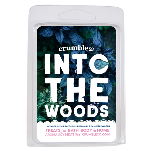 Into The Woods Wax Melts - Fragrant Wax Melts & Wax Cubes | Crumble Co. Scented Wax Bars & Candles
