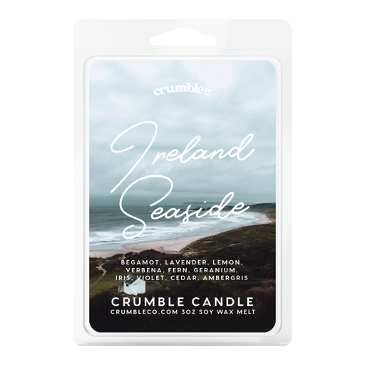 Ireland Seaside Wax Melts - Fragrant Wax Melts & Wax Cubes | Crumble Co. Scented Wax Bars & Candles