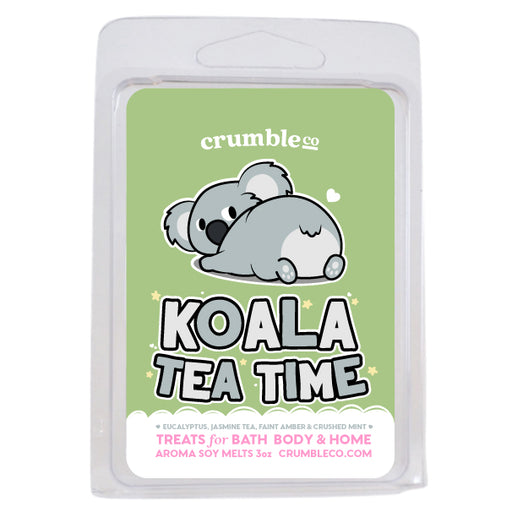 Koala Tea Time Wax Melts - Fragrant Wax Melts & Wax Cubes | Crumble Co. Scented Wax Bars & Candles