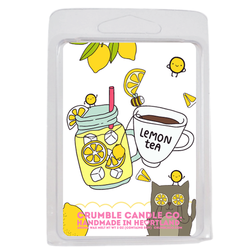 Lemon Tea Wax Melts - Fragrant Wax Melts & Wax Cubes | Crumble Co. Scented Wax Bars & Candles