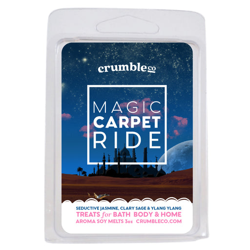 Magic Carpet Ride Wax Melts - Fragrant Wax Melts & Wax Cubes | Crumble Co. Scented Wax Bars & Candles