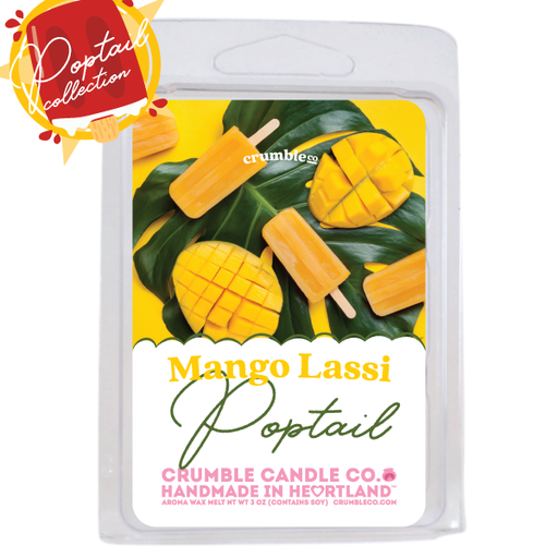 Mango Lassi Poptail Wax Melts - Fragrant Wax Melts & Wax Cubes | Crumble Co. Scented Wax Bars & Candles
