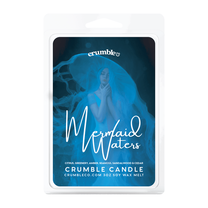 Mermaid Waters Wax Melts - Fragrant Wax Melts & Wax Cubes | Crumble Co. Scented Wax Bars & Candles