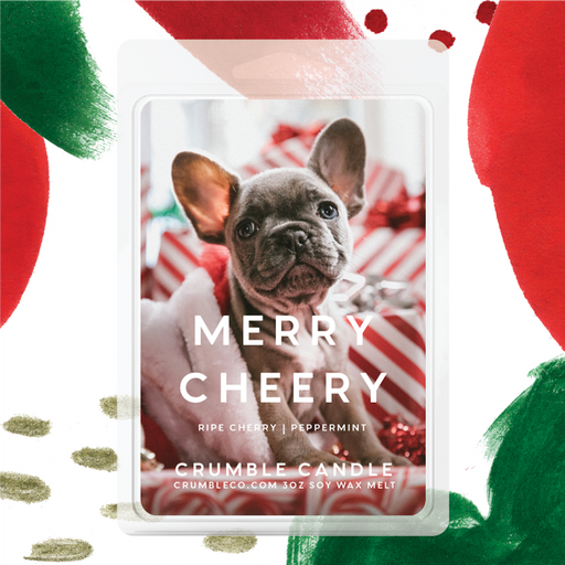 Merry Cheery Wax Melts - Fragrant Wax Melts & Wax Cubes | Crumble Co. Scented Wax Bars & Candles