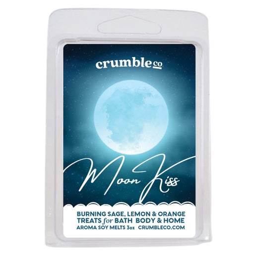 Moon Kiss Wax Melts - Fragrant Wax Melts & Wax Cubes | Crumble Co. Scented Wax Bars & Candles