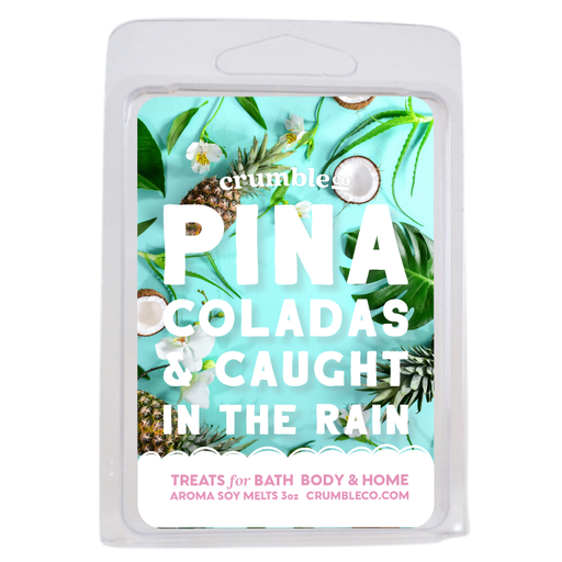 Pina Coladas & Caught In The Rain Wax Melts - Fragrant Wax Melts & Wax Cubes | Crumble Co. Scented Wax Bars & Candles