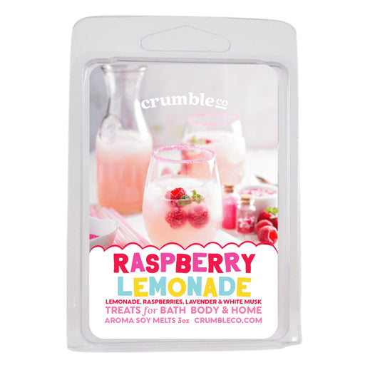 Raspberry Lemonade Wax Melts - Fragrant Wax Melts & Wax Cubes | Crumble Co. Scented Wax Bars & Candles