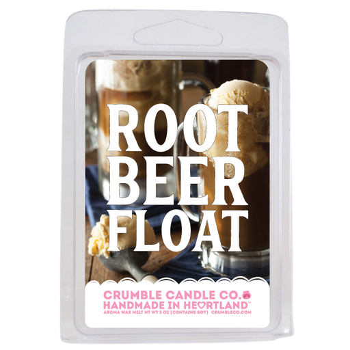 Root Beer Float Wax Bar - Fragrant Wax Melts & Wax Cubes | Crumble Co. Scented Wax Bars & Candles
