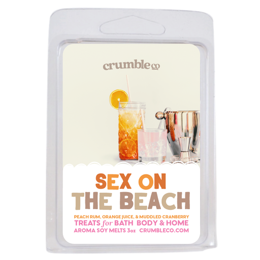 Sex on the Beach Wax Melts - Fragrant Wax Melts & Wax Cubes | Crumble Co. Scented Wax Bars & Candles