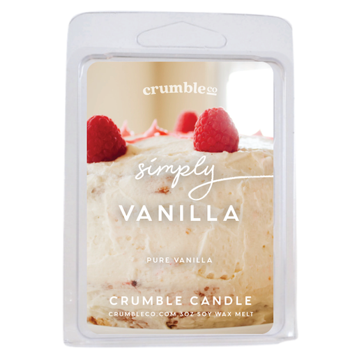 Simply Vanilla Wax Melts - Fragrant Wax Melts & Wax Cubes | Crumble Co. Scented Wax Bars & Candles