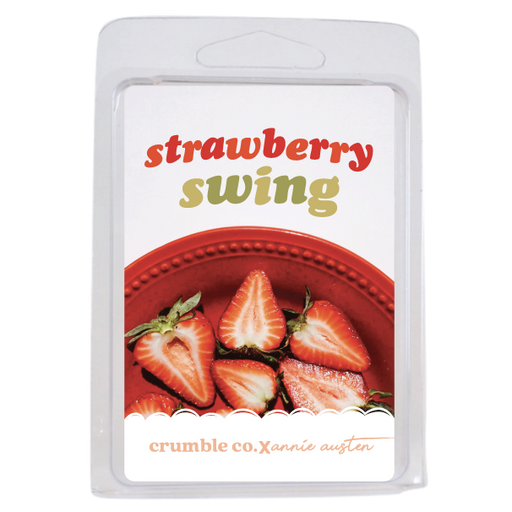 Strawberry Swing Wax Melts - Fragrant Wax Melts & Wax Cubes | Crumble Co. Scented Wax Bars & Candles