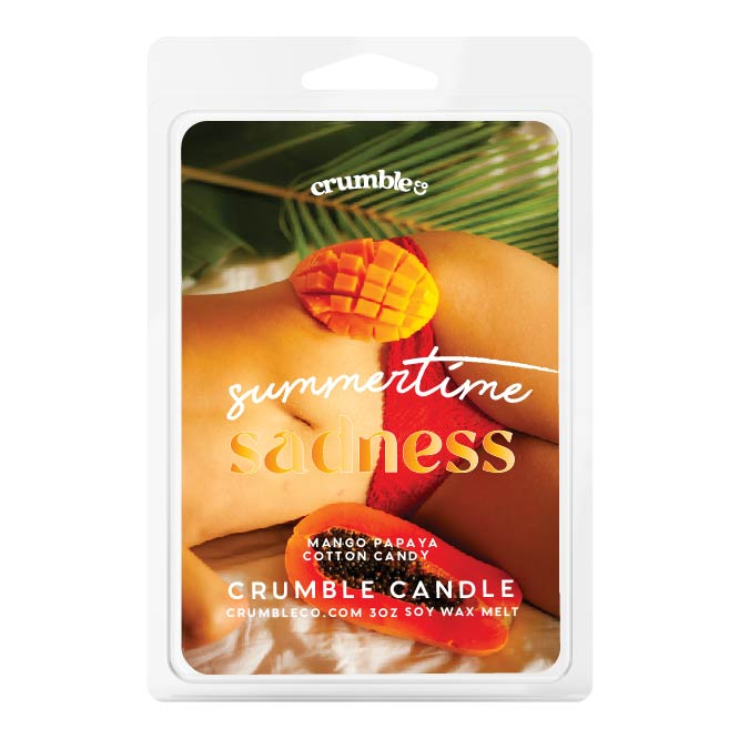 Summertime Sadness Wax Melt - Fragrant Wax Melts & Wax Cubes | Crumble Co. Scented Wax Bars & Candles