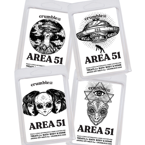 Area 51 Wax Melts - Fragrant Wax Melts & Wax Cubes | Crumble Co. Scented Wax Bars & Candles