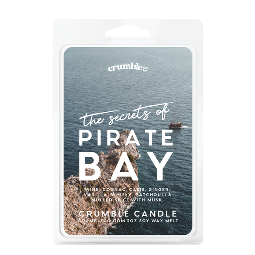 The Secrets Of Pirate Bay Wax Melts - Fragrant Wax Melts & Wax Cubes | Crumble Co. Scented Wax Bars & Candles