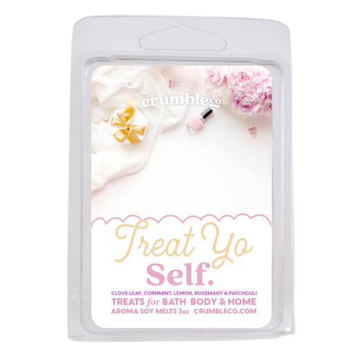 Treat Yo Self Wax Melts - Fragrant Wax Melts & Wax Cubes | Crumble Co. Scented Wax Bars & Candles