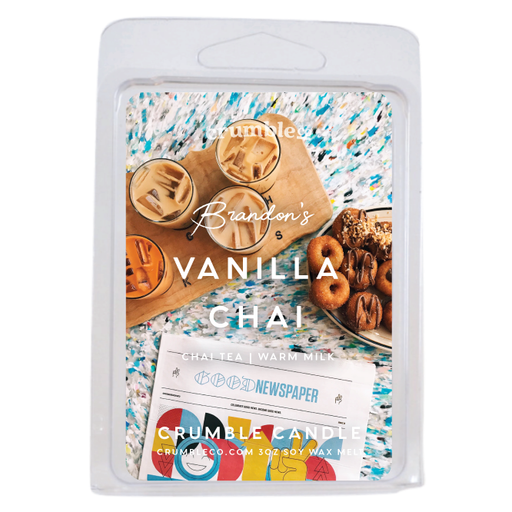 Vanilla Chai Wax Melts - Fragrant Wax Melts & Wax Cubes | Crumble Co. Scented Wax Bars & Candles