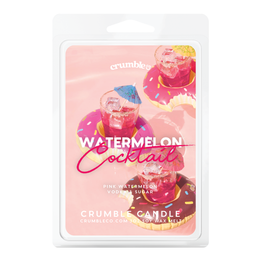 Watermelon Cocktail Wax Melts - Fragrant Wax Melts & Wax Cubes | Crumble Co. Scented Wax Bars & Candles