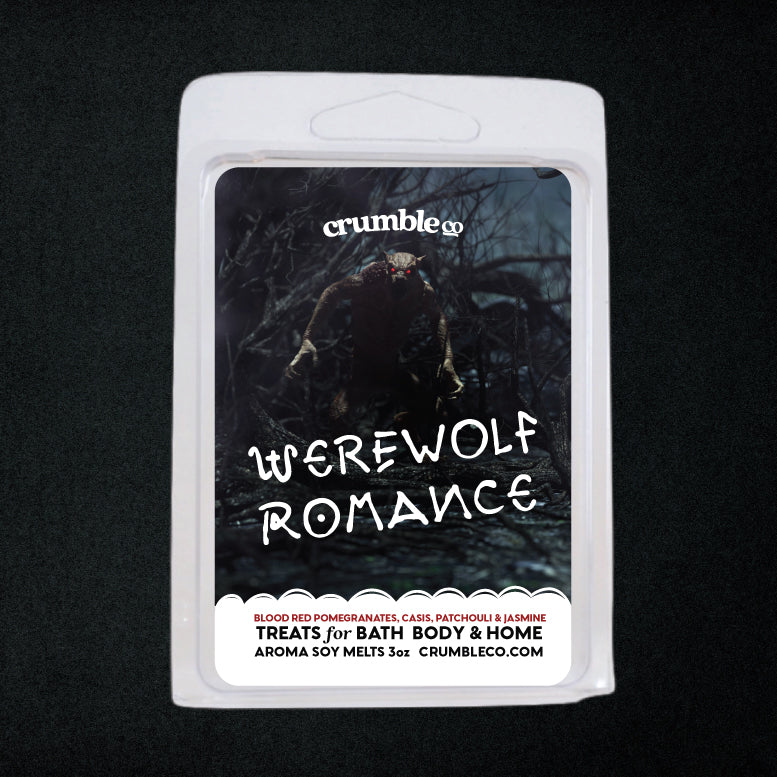Werewolf Romance Wax Melt - Fragrant Wax Melts & Wax Cubes | Crumble Co. Scented Wax Bars & Candles