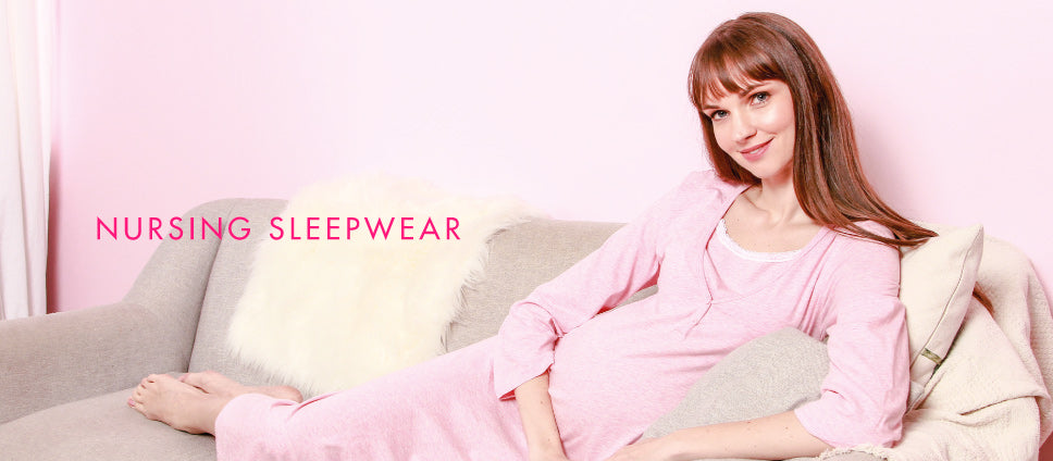 31b1b25529 Sleep tight and comfortably with Spring Maternity s sleepwear collection.  Made from 100% cotton