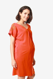 Dollie Dress Tangerine
