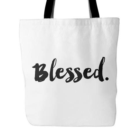 Blessed. Tote Bag