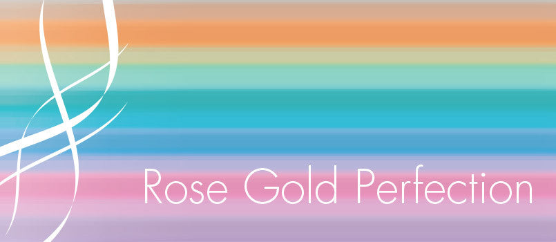 Rose gold top banner