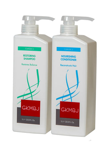 GKMBJ Restoring Shampoo & Conditioner Duo 1L