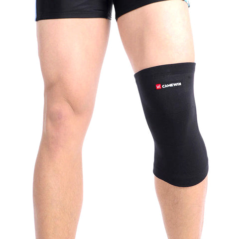 1 Piece CAMEWIN Brand Knee Support Protector Prevent Arthritis Injury High Elastic Kneepad Sports Outdoor Knee Guard Keep Warm