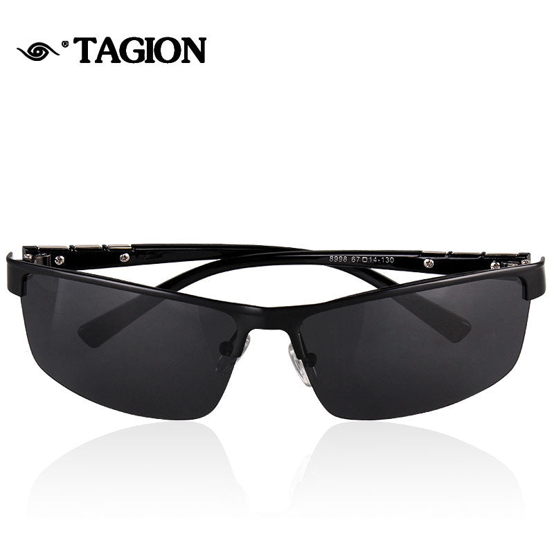 6aa5dd768b21 ... 2016 Men Polarized Sunglasses High Quality Promotion Polarizing Man Glasses  Outdoor Sport Rimless Male Polaroid Eyewear ...
