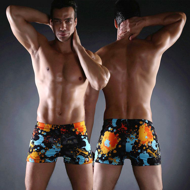 4101e4b825 2016 New Aqux Men's Swimwear Sexy Men's Swimming Shorts Sea Big & Tall Plus  Size Men ...