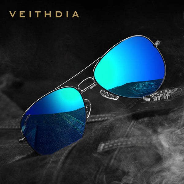 07816803f63ae 2016 New VEITHDIA Brand Designer Polarized Men Women Sunglasses Vintage  Fashion Driver Sun .