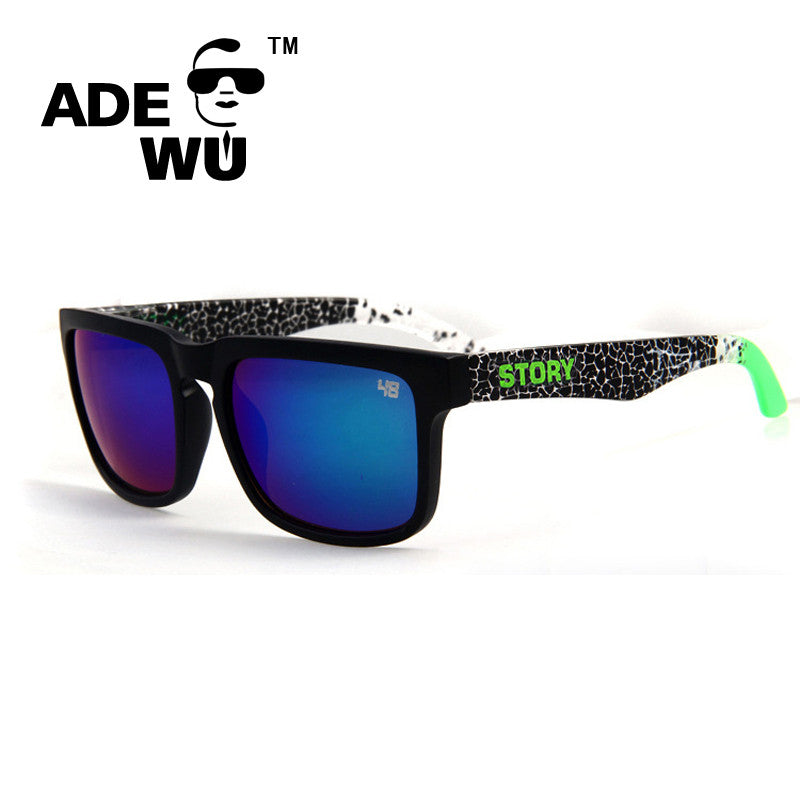 4d30e5b79483 ADEWU Sport Sunglasses Men Male Square Sun Glasses Women Brand Designer Ken  Block oculos de sol ...