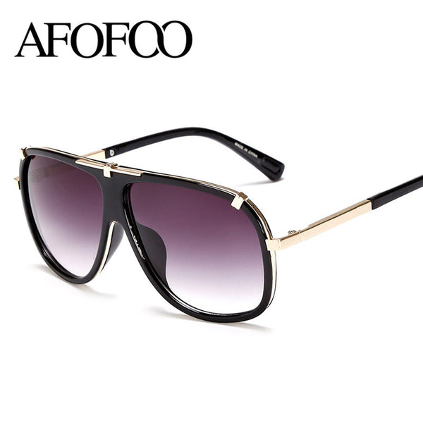 3074e357f4 AFOFOO Fashion Sunglasses Retro Men Glasses Luxury Brand Designer Wome –  Raja Indonesia