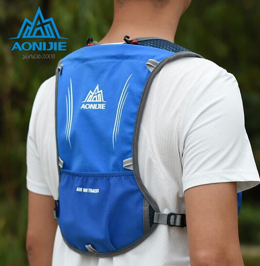 3313a67525 ... AONIJIE Men Women Lightweight Running Backpack Outdoor Sports Trail  Racing Marathon Hiking Fitness Bag Hydration Vest ...